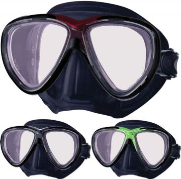 Tusa - Freedom One PRO Dive Mask - CrystalView Optical Glass - Scuba, Snorkel, Diving - Superior Fit